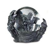 Stone Effect Dragon Claw Snow Globe Ornament