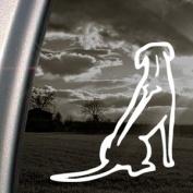 Rhodesian Ridgeback Dog Decal Truck Window Sticker