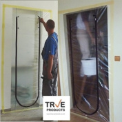 True Products Dust Stop Zip Door Kit