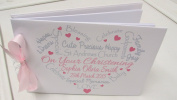 PERSONALISED BABY GIRLS/BOYS CHRISTENING/NAMING DAY BAPTISM/GUEST BOOK /SCRAPBOOK. in the UK