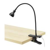 Jansjo LED clamp spotlight Black
