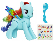 My Little Pony Flip and Whirl Rainbow Dash Figure