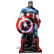 Marvel Avengers Life Size Cutout of Captain America