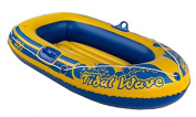 Childs 140cm Rubber Boat Dinghy Inflatable Raft Childrens Swimming Pool Beach Toy
