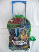 Childrens Large Premium Teenage Mutant Ninja Turtles Trolley Bag Suitcase