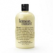 Philosophy Lemon Custard Shampoo Shower Gel and Bubble Bath, 470ml