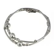 Doinshop New Nice Fashion Tibetan Silver Retro Women Hand Chain Bracelet Jewellery