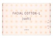 Albion Japan Facial Cotton-L [Soft] 120 Sheet