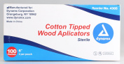 Cotton Tip Applicator 15cm 2's Sterile 100/box
