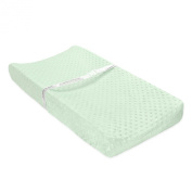 Carter's Popcorn Valboa Changing Pad Cover, Sage Haven