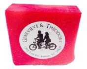 Raspberry Spearmint Luxe Bar Soap by Soapie Shoppe