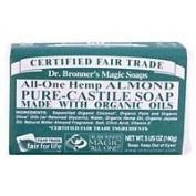 Dr. Bronner's Magic Soaps All-One Hemp Pure-Castile Soap Almond -- 150ml