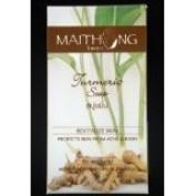 2x Maithong Turmeric Herbal Soap Bar Reduce Acne 100g