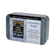 One With Nature Dead Sea Mineral Soap Lavender - 210ml