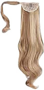 Press On Hair Ponytail Hair Extension, Blonde Blend, 90ml
