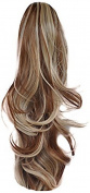 Press On Hair Ponytail Hair Extension, Dark Blonde, 90ml