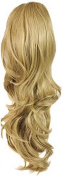 Press On Hair Ponytail Hair Extension, Nat Blonde, 90ml