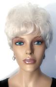 BRENDA Volumized Waves Wig by Mona Lisa - Grey - 60 Silver White