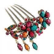 HP95(TM) Women's Hair Accessory, Vintage Jewellery Rhinestone Flower Hairpins, Hair Com, Hair Clips Beauty Tools