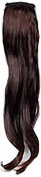 Press On Hair Ponytail Hair Extension, Dark Brown, 90ml