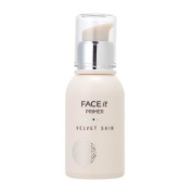 The Face Shop_ Face It velvet skin primer 30g (cover pores and fine lines, controls sebum, oil-free) by The Face Shop Korean Beauty