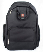 Okkatots Travel Baby Depot Backpack Bag   Black