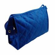 BelleSha Water Resistant Cosmetic Bag Blue