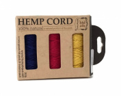 Hemptique Hemp Cord 3 Spool Boxed Set Rio