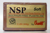 Chavant NSP SOFT - 0.9kg. Professional Oil Based Sulphur Free Sculpting Clay