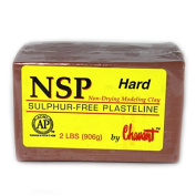 Chavant NSP HARD - 0.9kg. Professional Oil Based Sulphur Free Sculpting Clay