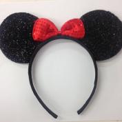 Minnie Mouse Ears, Disney Ears, Princess Disney Ears, Minnie Mouse Party, Disneyland, Minnie Mouse