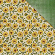 Country Kitchen Double-Sided Cardstock 30cm x 30cm -Sunflowers