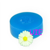 149LBH Mini Sunflower Silicone Mould Cake Fondant Cupcake Decorating Topper - Marshmallow Air Dry Polymer Clay Moulds, Food Safe