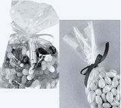 Clear Cello/cellophane Bags - 15cm X 25cm - Party/favours - Gift Basket Supplies - 100