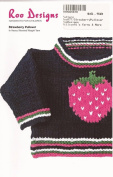 Roo Designs Child's Strawberry Pullover Knitting Pattern