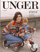 Unger Utopia Easy Knit Knitting Pattern #1000 Kid's & Mom's Striped Boatneck Sweater
