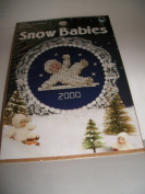 Snow Babies 2000 Kit 113024 - Slipping and Sliding Glissades Counted Cross Stitch