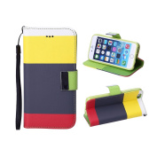 TOPCHANCES Fashion Fresh Cute Flip Wallet PU Leather Case Cover for for iPhone 6 Case 12cm