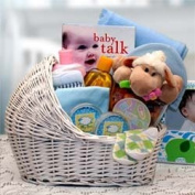 Welcome Baby Bassinet Boys