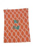 Caught Ya Lookin' Wet Stuff Bag, Orange Hexagon/Navy/Green