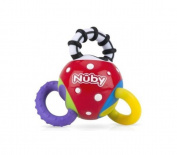Nuby Twista Ball Teether Toy,  .   Plus