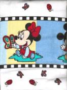 Disney Mickey, Minnie, Pluto 2-pc Flannel Baby Receiving Blankets