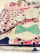 Baby Blanket Bows Reversible