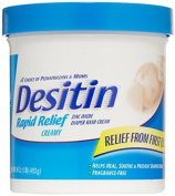 Desitin Nappy Rash Cream Rapid Relief, 470ml Jar