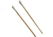 FOONEE Wooden Handle Single,end Cotton Tip Applicator Swab,100pcs by FOONEE