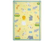 Joy Carpets Kid Essentials Infants & Toddlers Simply Noah Rug, Multicoloured, 0.9m x 1.5m