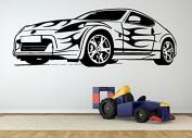 Wall Room Decor Art Vinyl Sticker Mural Decal Sport Race Car Vehicle Ride AS2047