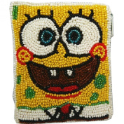 E.a@market DIY Spongebob Change Purse Pure Manual Beaded Coin Purse