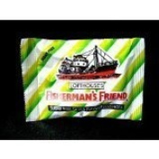 12x Fisherman's Friend Sugar Free Citrus Flavour Lozenges Relief Sore Throat Cold