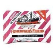3x Fisherman's Friend Cherry Flavour Lozenges Relieve Sore Throat Cold Sugar Free